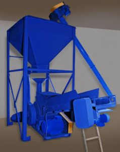 Измельчитель материалов ИМ-200 (мелкодисперсный)