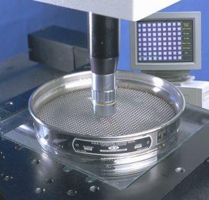 поверка сит лабораторных с микроскопом