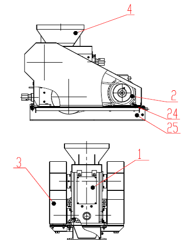 Щековая дробилка 2ЩДС 100х200