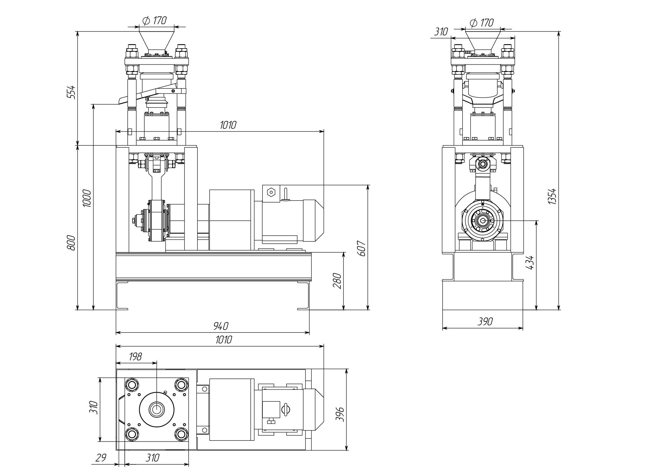 Конусная дробилка КД-10