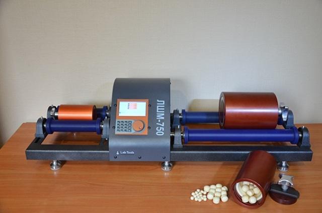 Лабораторная шаровая мельница ЛШМ-750