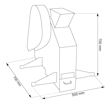 Щековая дробилка лабораторная LKS-100 (TESTCHEM)