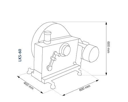 Щековая дробилка лабораторная LKS-60 (TESTCHEM)