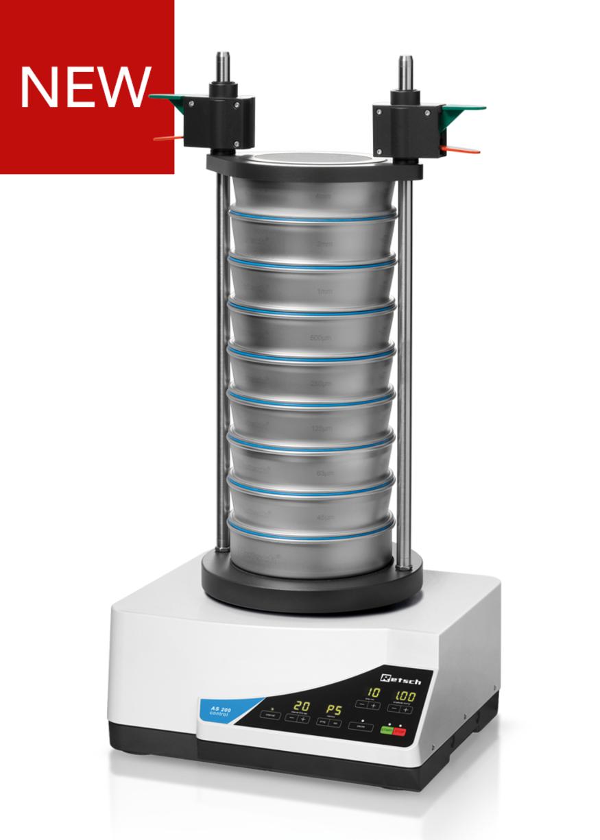 Просеивающая машина (ситовой анализатор) AS 200 control (RETSCH)