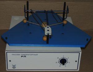 Рассев лабораторный РЛ-2 трехгнездовой