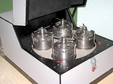 Шаровая планетарная мельница периодического действия МПП-1-1