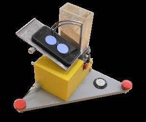 Прибор для измерения угла естественного откоса сыпучих материалов