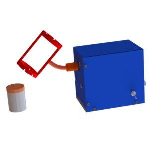 Устройство для перемешивания малых проб сыпучих материалов