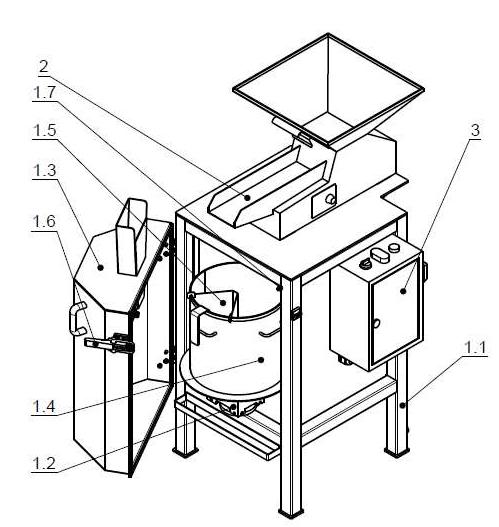 Делительное устройство ДУ-10 схема