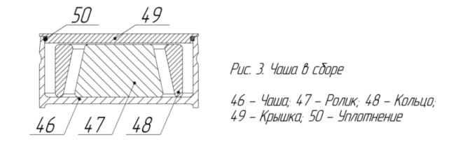 Схема чаши ИВ 3