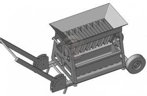 Делитель проб (полевой) ДП(П)-450 на колесах