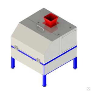 Делитель проб ротационный ДПР-10 с крышкой